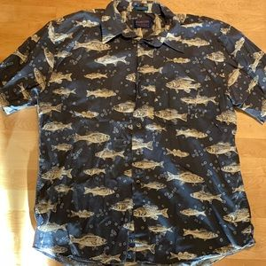 Pendleton casual button-up short sleeve shirt